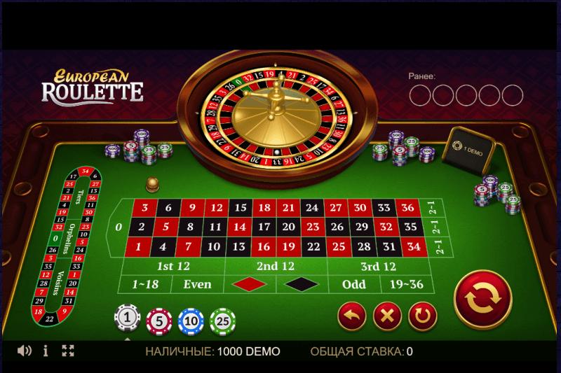 Игровой стол в онлайн-казино